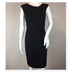 David Meister Dress Size 2 Sheath Dress Black